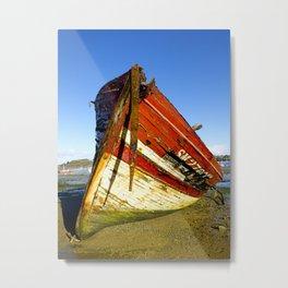 Boat Colors Metal Print