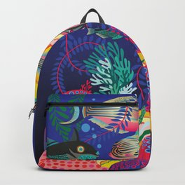 Exotic Sea Life Backpack