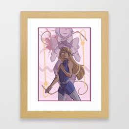 ace attorney- whips and nooses Framed Art Print