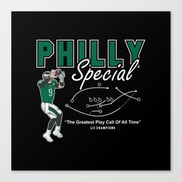 The Philly Special Canvas Print