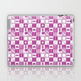 Contraception Pattern (Purple) Laptop & iPad Skin