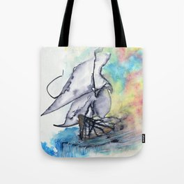 Edge of the Earth Tote Bag
