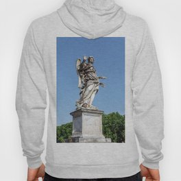 Angel with the Nails at the Sant'Angelo bridge - Rome, Italy Hoody