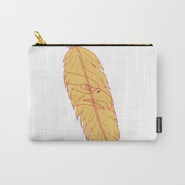 Sea Eagle Head Inside Feather Drawing Carry-All Pouch