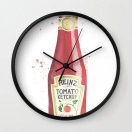 Can you Ketchup? Wall Clock