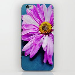 pink Flower From New York  iPhone Skin