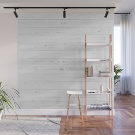WHITEWASHED PINE Wall Mural
