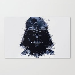 the Darth side Canvas Print