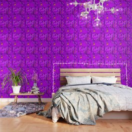 Purple Abstract Passion Wallpaper