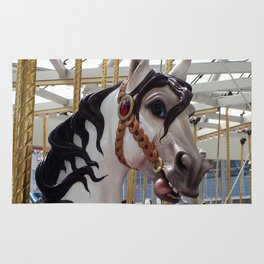 Carousel horse 03 Rug