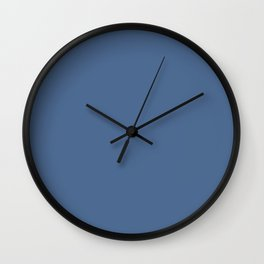 PANTONE 17­-4028 Riverside Wall Clock