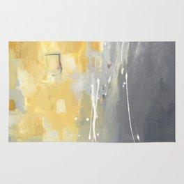 50 Shades of Grey and Yellow Rug