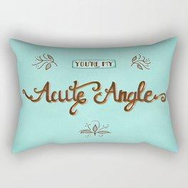 Acute Angle Rectangular Pillow
