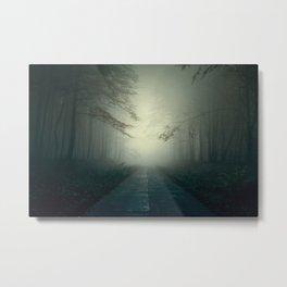 Foggy Stories Metal Print