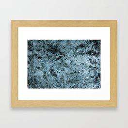 Glacial Ice Framed Art Print