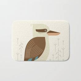 Laughing Kookaburra, Bird of Australia Bath Mat