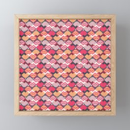 "Those lips are ""kilim"" me Framed Mini Art Print"