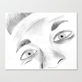A Lack of Expression Canvas Print