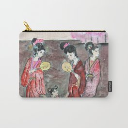 Four ancient Oriental beauties Carry-All Pouch