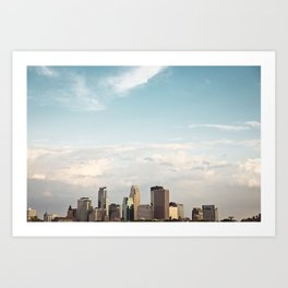 Minneapolis, Mn. Skyline.  Art Print