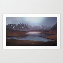 The Loch Art Print