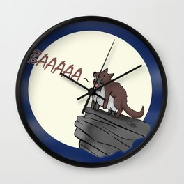 Sheep In Wolves' Clothing Wall Clock