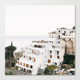 Cliffside View, Positano Canvas Print