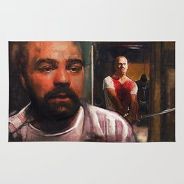 Escape From Sodom - Butch And Zed - Pulp Fiction Rug