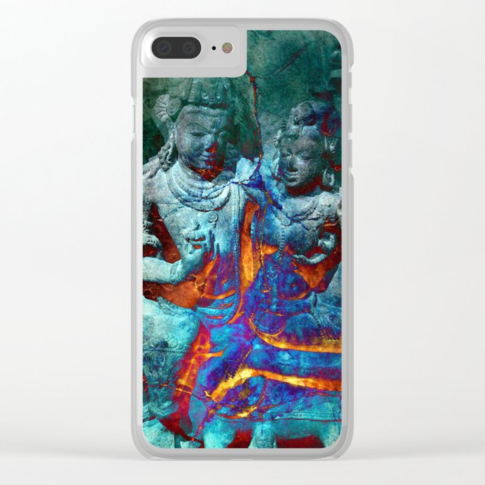 Spontaneous Combustion Clear iPhone Case