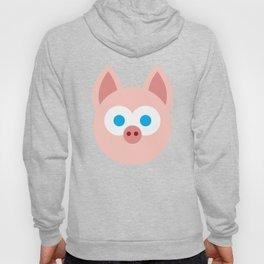 Funny Cartoon Piggy - Professional Design Hoody