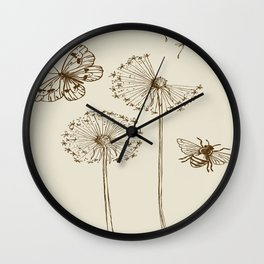 Lazy Days Wall Clock