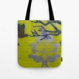 Wall Art Remix Yelllow Tote Bag