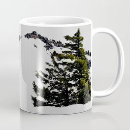 Crater Lake Watchman Overlook Coffee Mug
