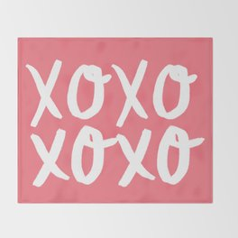 Xo Hugs & Kisses Throw Blanket