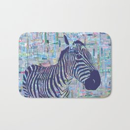 Zoe the Zebra Bath Mat