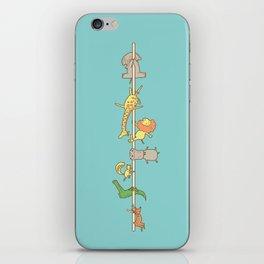 I love pole dancing iPhone Skin