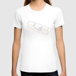 just clothespin  T-shirt