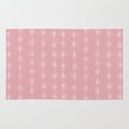Pink Daisy Chain (Large Print) Rug