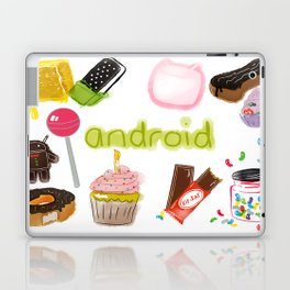 Android Laptop & iPad Skin