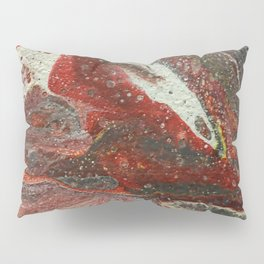 Red Streak Pillow Sham