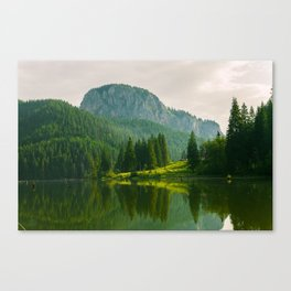 Red Lake, Romania Canvas Print