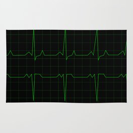 Normal Heart Rhythm Rug