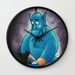 """We are going to miss him, too."" Wall Clock"