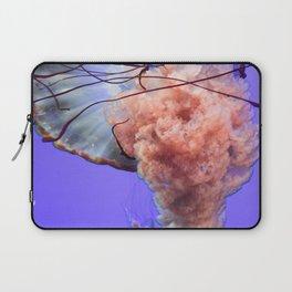 Jellyfish Photography | Rainbow | Colourful Deep Sea Exploration Laptop Sleeve