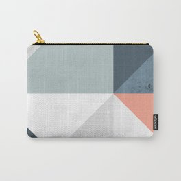 Modern Geometric 12 Carry-All Pouch