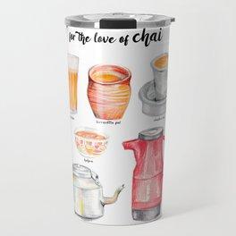 for the love of chai Travel Mug