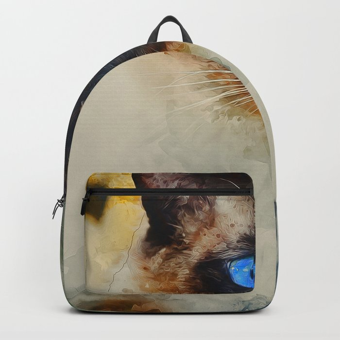 Siamese Cat Backpack