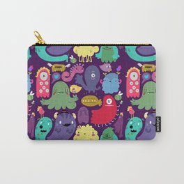 Colorful creatures Carry-All Pouch
