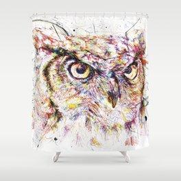 Owl // Ahmyo Shower Curtain