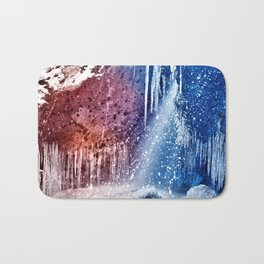Acrylic Winter Stream Bath Mat